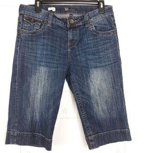 Kut from the Kloth Natalie Bermuda denim shorts